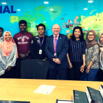 ASIC Chairman, Dr Maurice Dimmock, at Malaysia University of Science and Technology